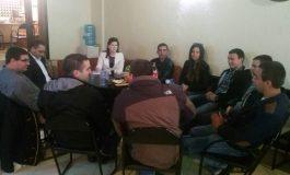 Народният представител и член на НИС на МГЕРБ Даниела Панайотова се срещна с младежи от Вълчи дол