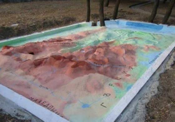 В девненско училище възстановиха уникална карта на България