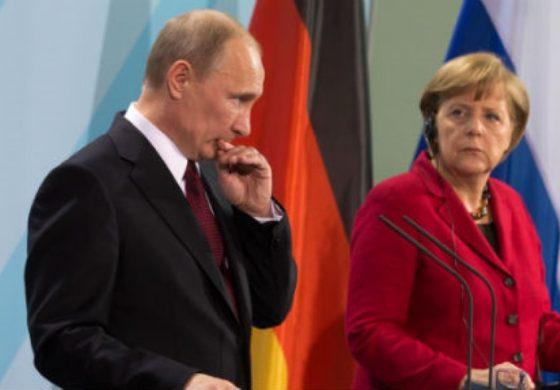 Путин печели, Ангела Меркел губи