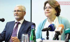 Татяна Дончева и Минчо Спасов влизат заедно в кандидатпрезидентската битка