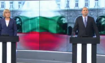 Финалните реплики на Цачева и Радев! Кой какво послание отправи в края на дебата два дни преди балотажа