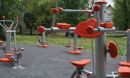 Площадка за фитнес на открито бе изградена в град Долни чифлик