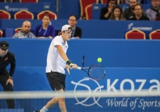 Александър Лазаров отпадна на старта на Sofia Open