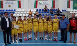 Момичетата на Вълчи дол шампионки по баскетбол от игрите в Аспарухово