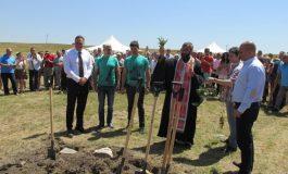 Народни представители от ГЕРБ присъстваха на първата копка на исторически парк в община Ветрино