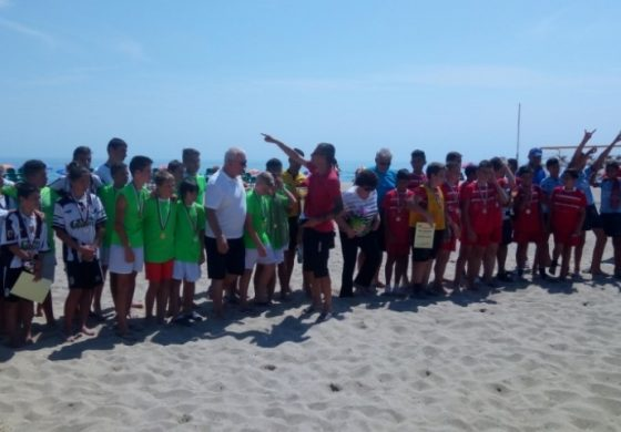 ФК Русе спечели детски турнир по плажен футбол