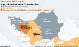 Следващата голяма политическа криза може да избухне на Балканите