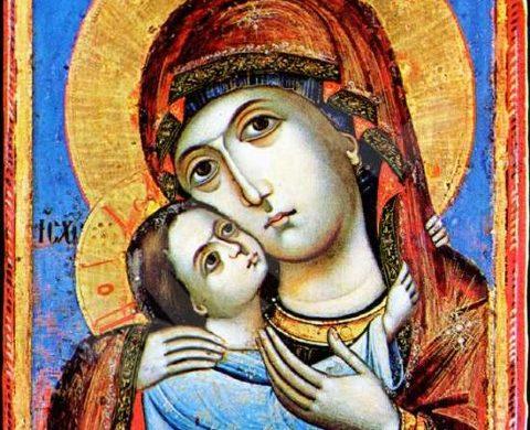 """Мерткан Ибрямов и Георги Тронков подариха икона Св. Богородица """"Умиление"""" на обновена 150 годишна църква"""
