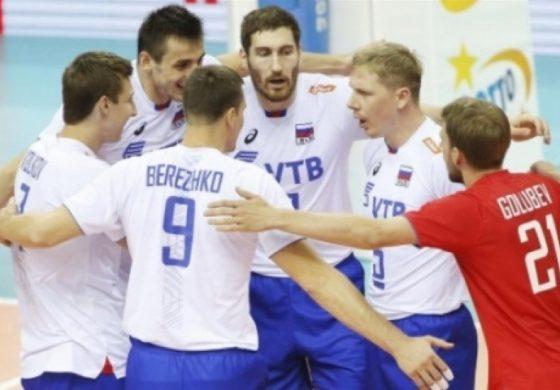 Русия е новият европейски шампион по волейбол