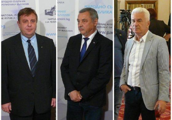 Симеонов гневен на Борисов, Каракачанов замазва