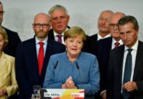 Меркел след четвъртата победа: Очаквах по-добър резултат