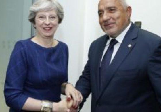 Борисов отива в Лондон. Среща се с Тереза Мей