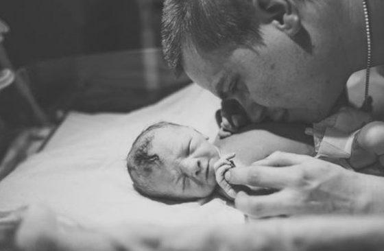 Когато той стане татко: Тези снимки ще ви разтопят