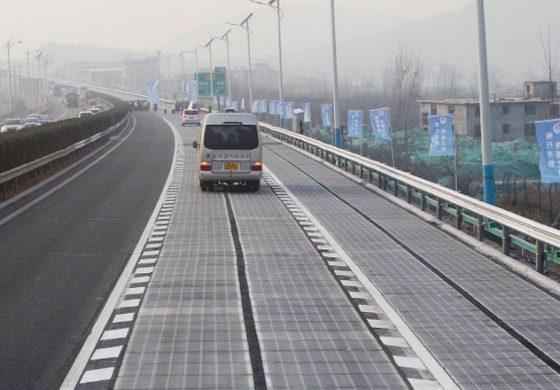 В Китай километър соларна магистрала – ток за 800 семейства