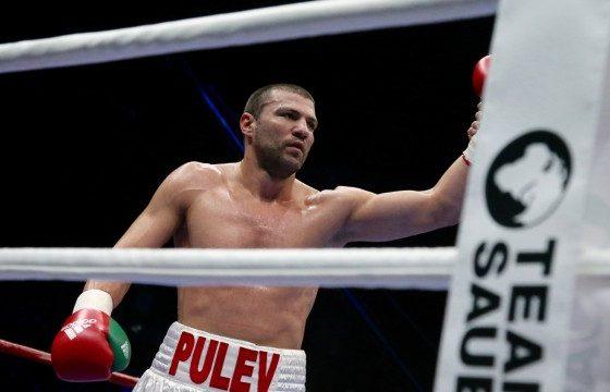 Тервел Пулев наби американец още в първия рунд