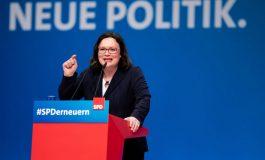 Германската СДП избра първата жена-лидер в историята си