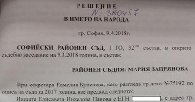 Съдът: Черния лебед е с криминална регистрация
