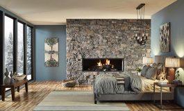 Декоративен камък в спалнята – идеи и съвети