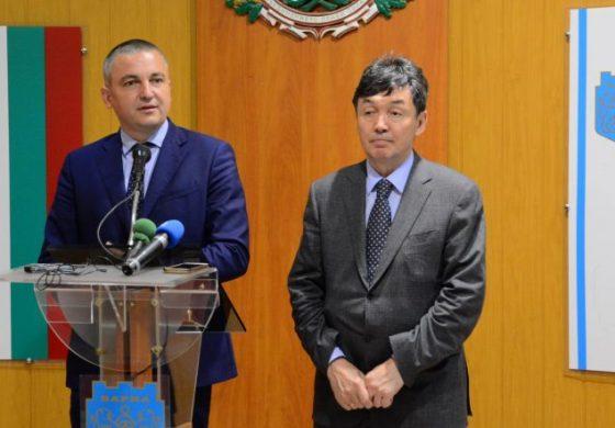 Иван Портних се срещна с посланика на Казахстан