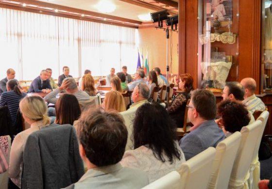 Обучителeн семинар за предприемачи се проведе в Община Варна