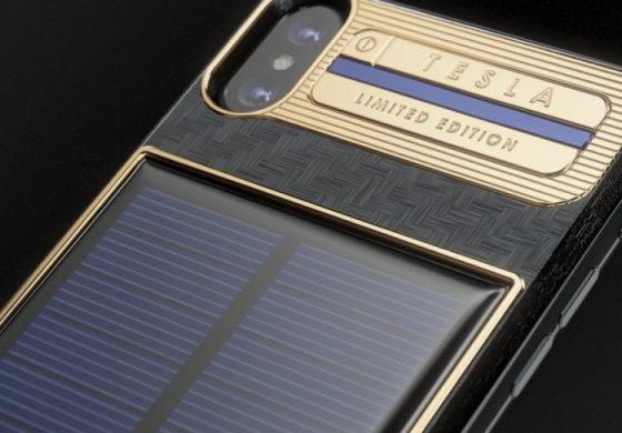 Направиха iPhone X за $4,000 със слънчева батерия (снимки)
