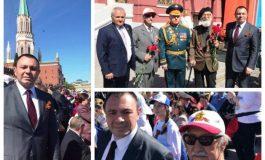 Светлозар Лазаров заведе български ветерани на парада в Москва за пръв път след 1989 г.