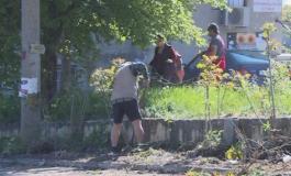 Жители на варненското село Куманово чистиха улиците от наноси и боклуци