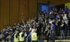 Прекратиха баскетболния мач между Левски Лукойл и Балкан заради ексцесии