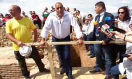 Борисов даде месец срок за решение как да се запази древното селище по АМ Струма (ВИДЕО)