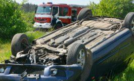Джип се обърна в нива край Долни Чифлик, шофьорът загина