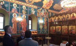 Кметове и народният представител Нели Петрова бяха гости на откриването на изографисания храм в с. Царевци