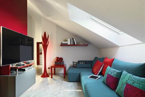 Хитри идеи за домове със скосени тавани