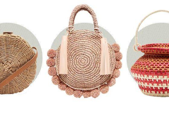 Сламената чанта - кошница за плаж или моден тренд