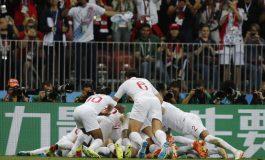Хърватия отива на финал с Франция на Световното първенство в Русия (СНИМКИ)