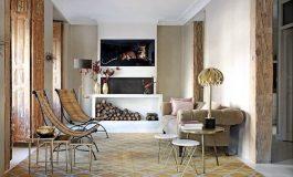 Малък и еклектичен апартамент