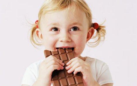 Как да забраня сладкото на детето си?