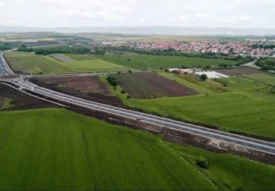 Изградена е допълнителната връзка за влизане в Ахелой на пътя Слънчев бряг-Бургас