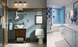 Красиви бани в синьо (Галерия)