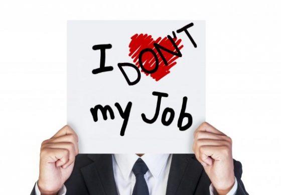Не харесвам работата си. Какво да правя?