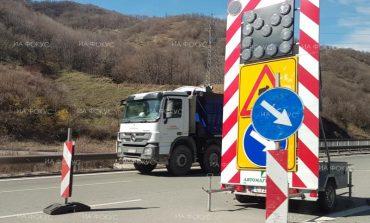 По пътя между Девня и Суворово се извършват ремонтни дейности