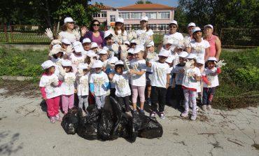 """За осма поредна година община Ветрино се включи в националната кампания """"Да изчистим България заедно"""""""