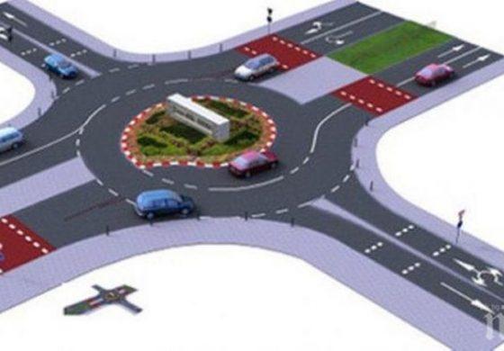 Правят кръгово кръстовище между Кичево и Аксаково