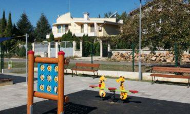 Нова детска площадка в село Страшимирово