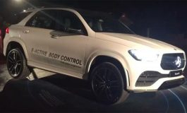 Вижте как работи новото окачване на Mercedes (ВИДЕО)