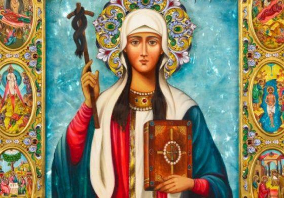 Красиви имена черпят днес заради светица, покровителка на Грузия и роднина на Георги Победоносец