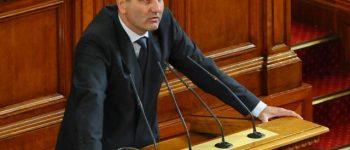Цветан Цветанов към БСП: Ултимативното поведение е неприемливо! Бъдете смели и честни!