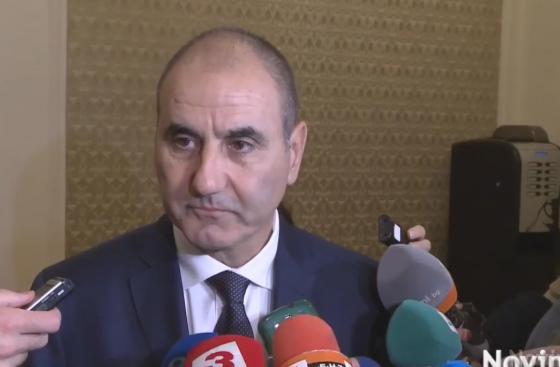 Цветан Цветанов: ГЕРБ ще подкрепи ВМРО за циганите
