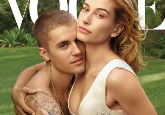 Джъстин Бийбър и Хейли Болдуин на корица на Vogue в цялата им любовна прелест