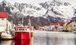 Красотата на Лофотенските острови в Норвегия