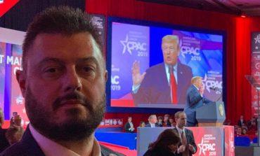 Бареков се срещна лично с вицепрезидента на САЩ Пенс и присъства на речта на Тръмп с конгресмени и сенатори